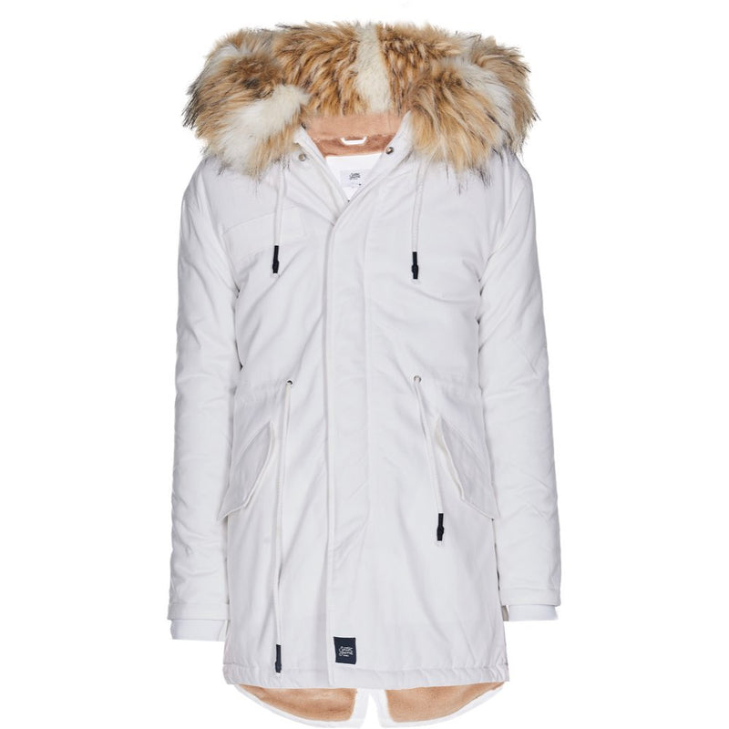 parka dress in cotton with spe