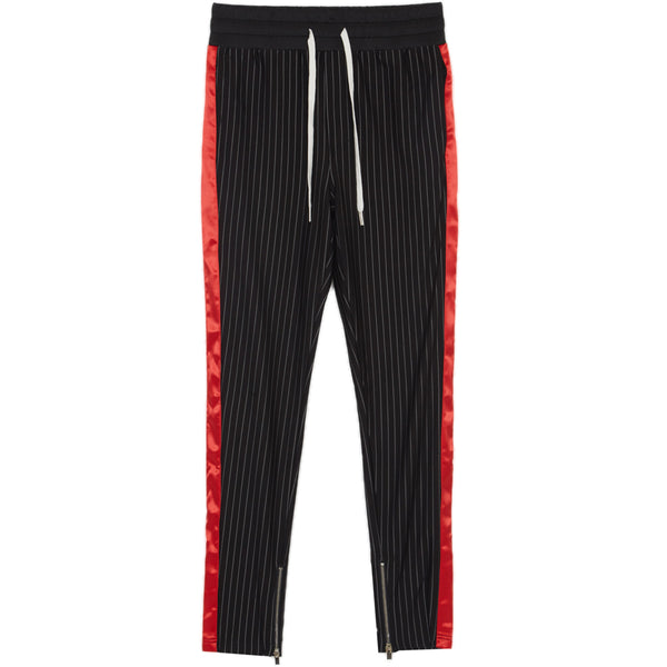 stripes baseball pants