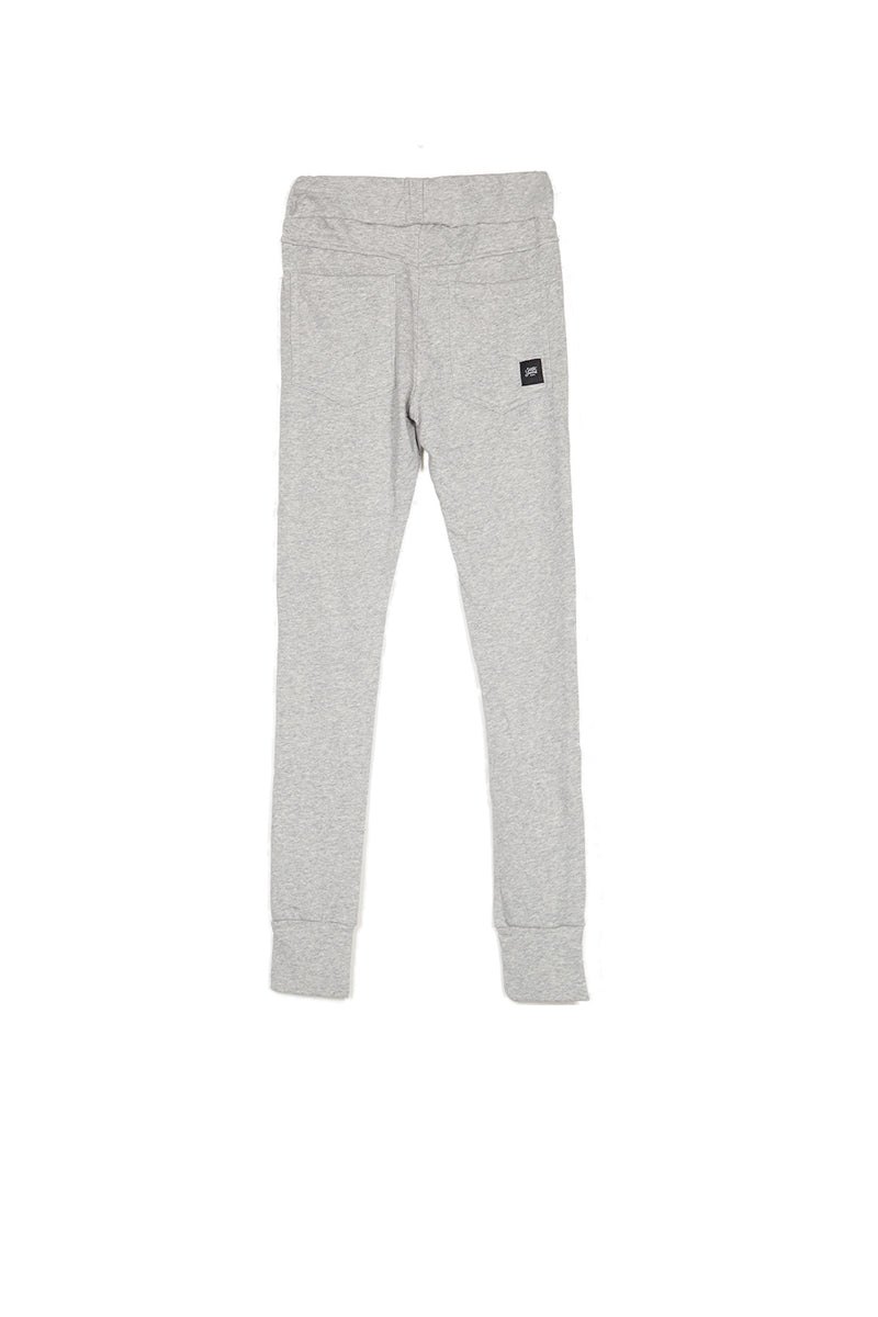 Jogging ruban satin Sixth June gris clair
