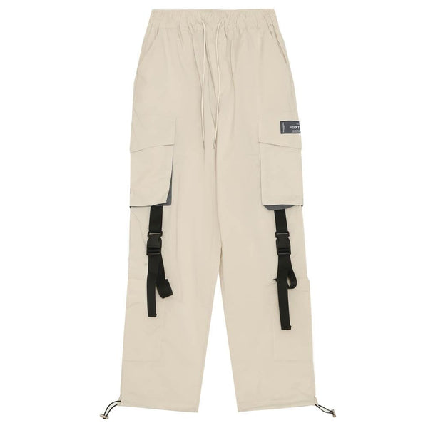 Pantalon cargo tactique beige