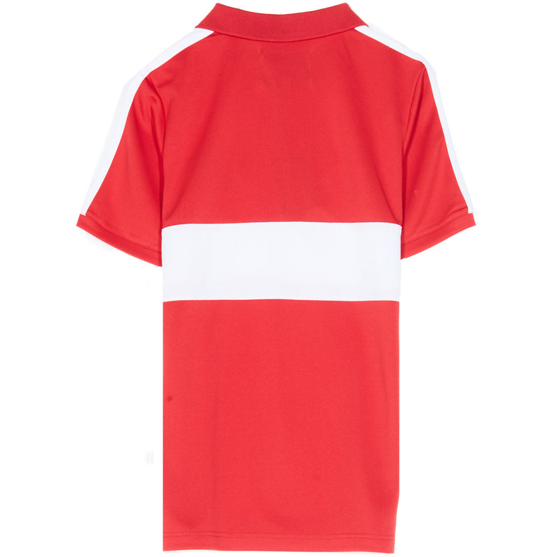 Maillot col football league rouge