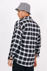 Ring Tartan Shirt Black White