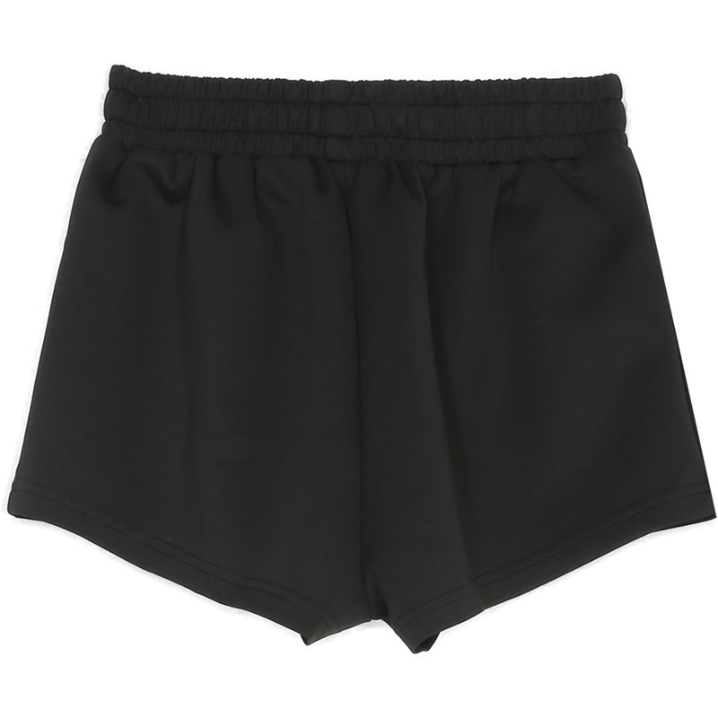 Short court logo signature noir