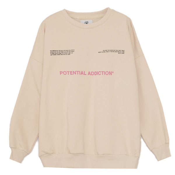 Sweat potential addiction beige