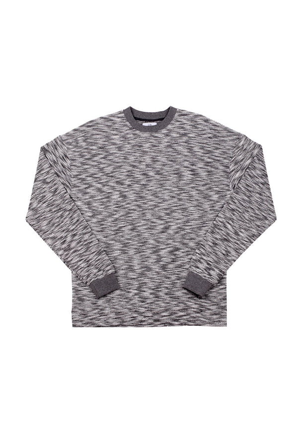 Sweat chiné Sixth June basique gris M2209PSW
