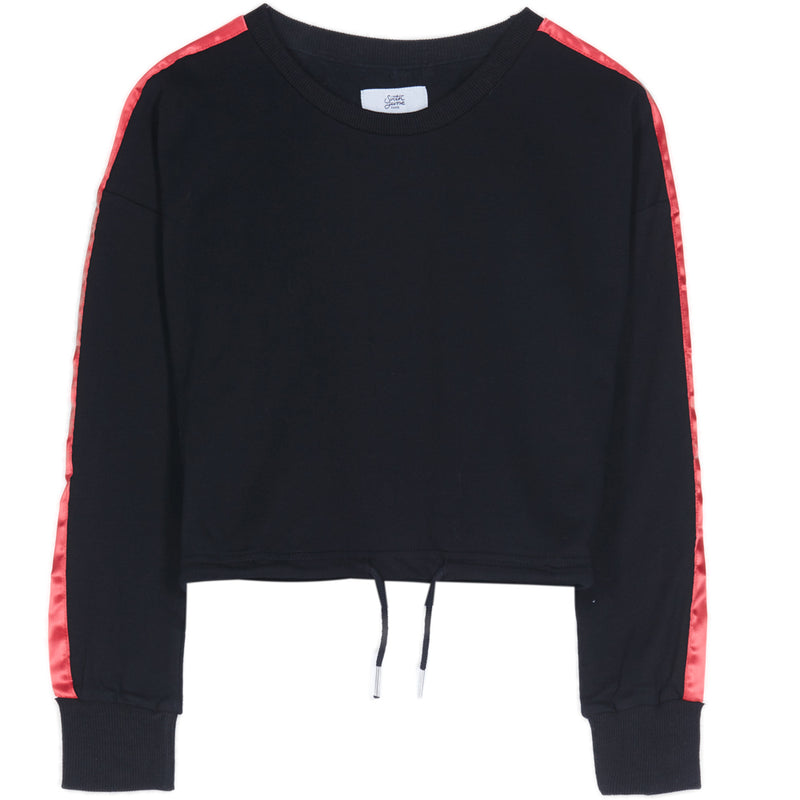 crewneck with bands