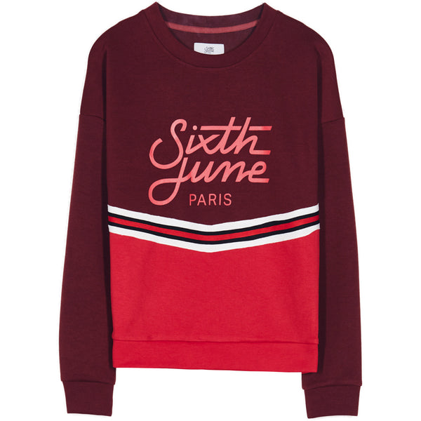 sweatshirt with tribands