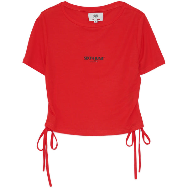Crop top cordon rouge