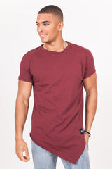 T-shirt large pointe bordeaux
