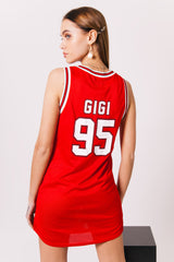Robe T-Shirt Gigi 95 rouge