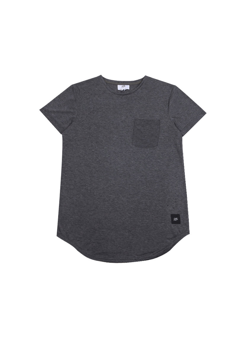 T-shirt chest pocket Sixth June dark grey M2511VTS (Default)