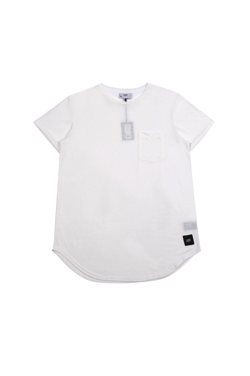 T-shirt chest pocket Sixth June white M2511VTS (Default)