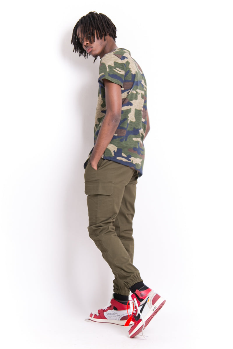 Signature Camouflage T-Shirt Green