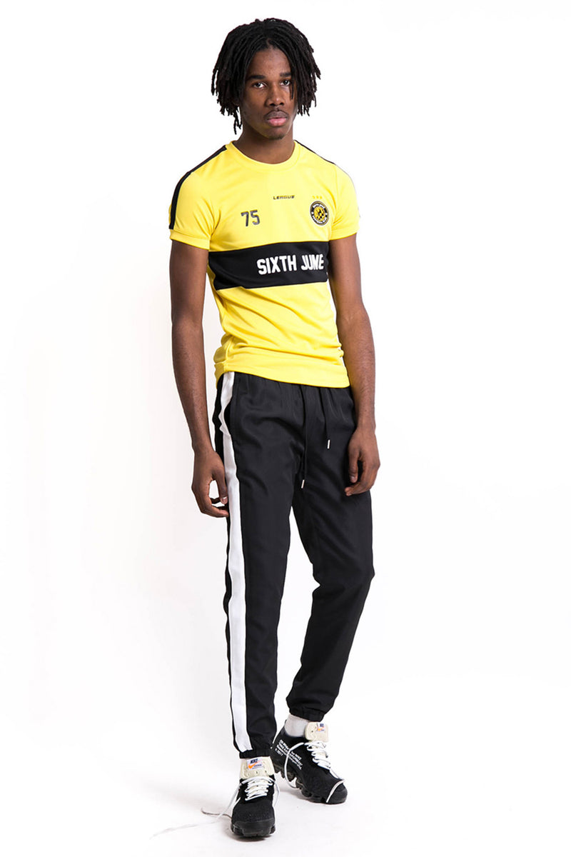 League Football Jersey Yellow