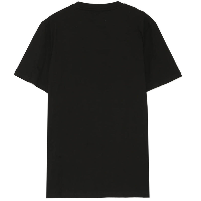 T-shirt poche sangle noir