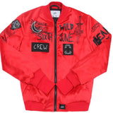 Bomber Crew Sixth June rouge M2450CJA