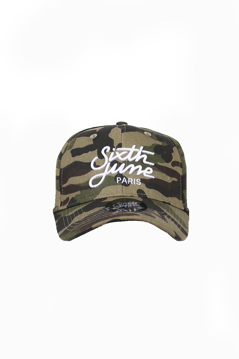 Casquette Sixth June logo camouflage M1741FCA