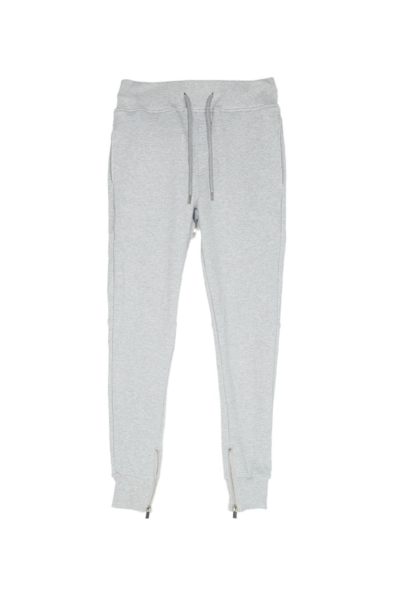 Jogging zips slim Sixth June gris clair
