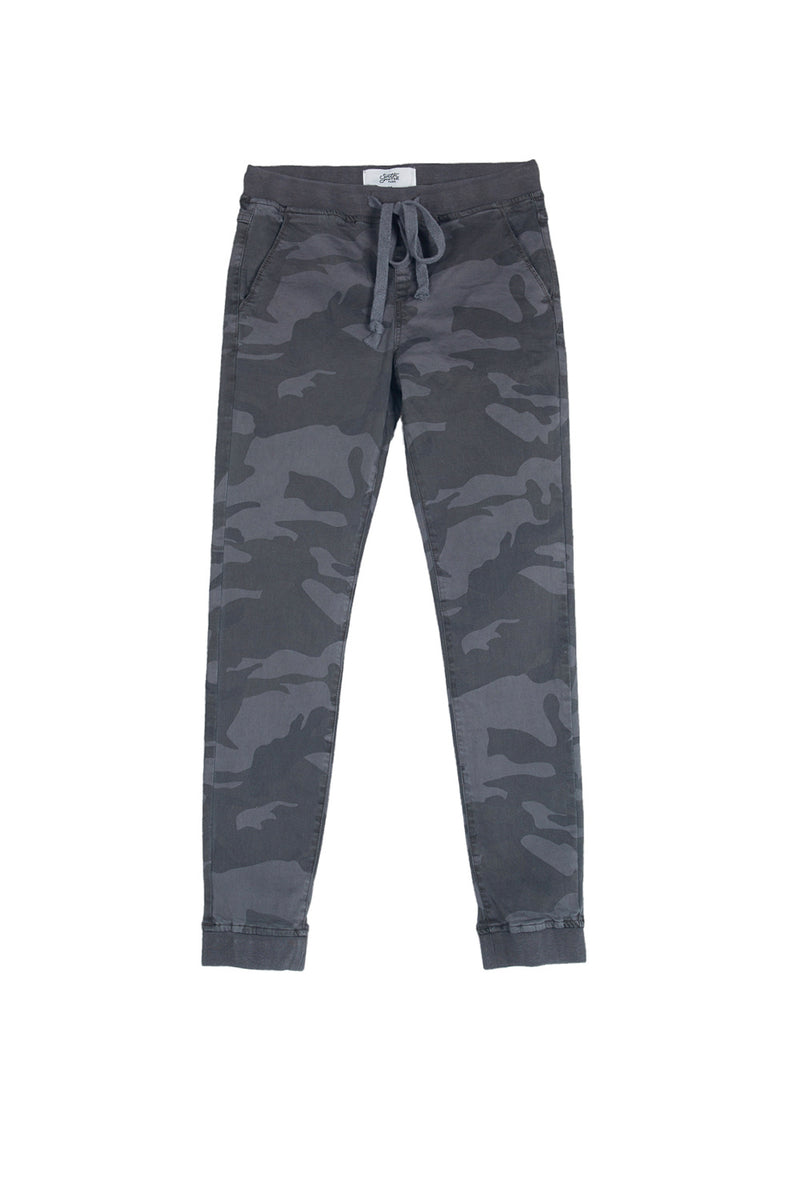Jogg jeans camouflage Sixth June black M2471HDE