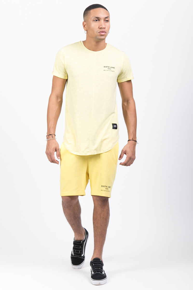 Short Paris GPS jaune