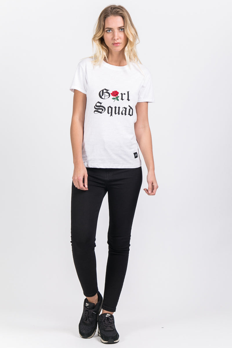 Girl Squad T-Shirt White