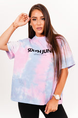 T-shirt tie and dye rose