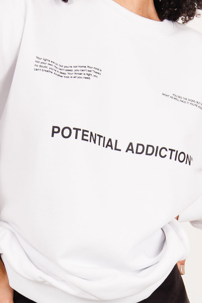 Sweat potential addiction blanc