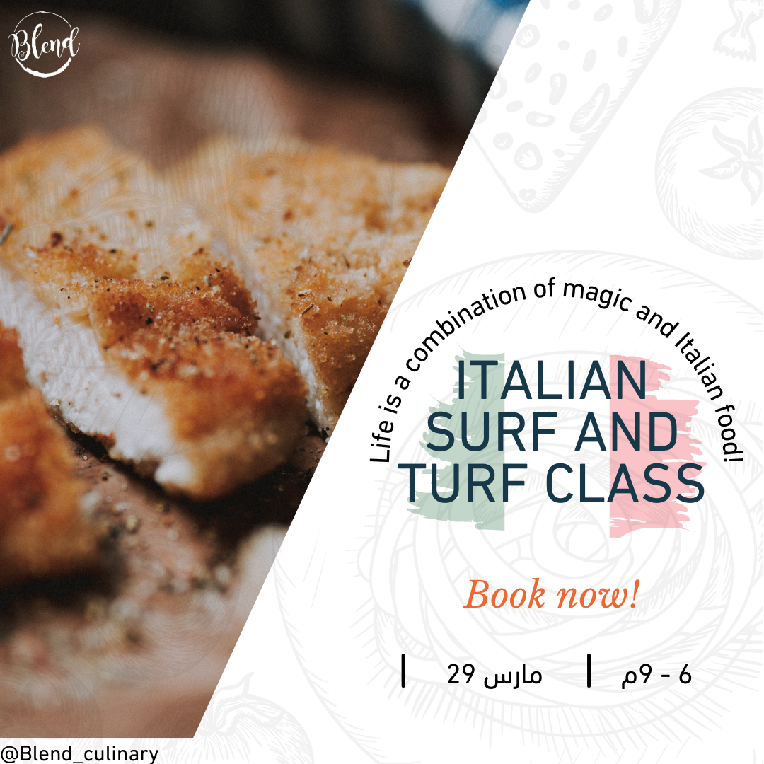 Italian Surf and Turf Class