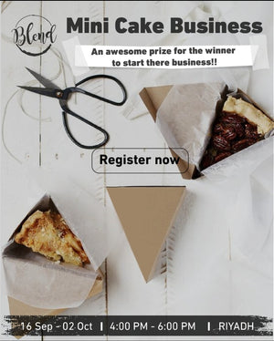 The Mini Cake Business (16 Sep to 2 Oct 2019)