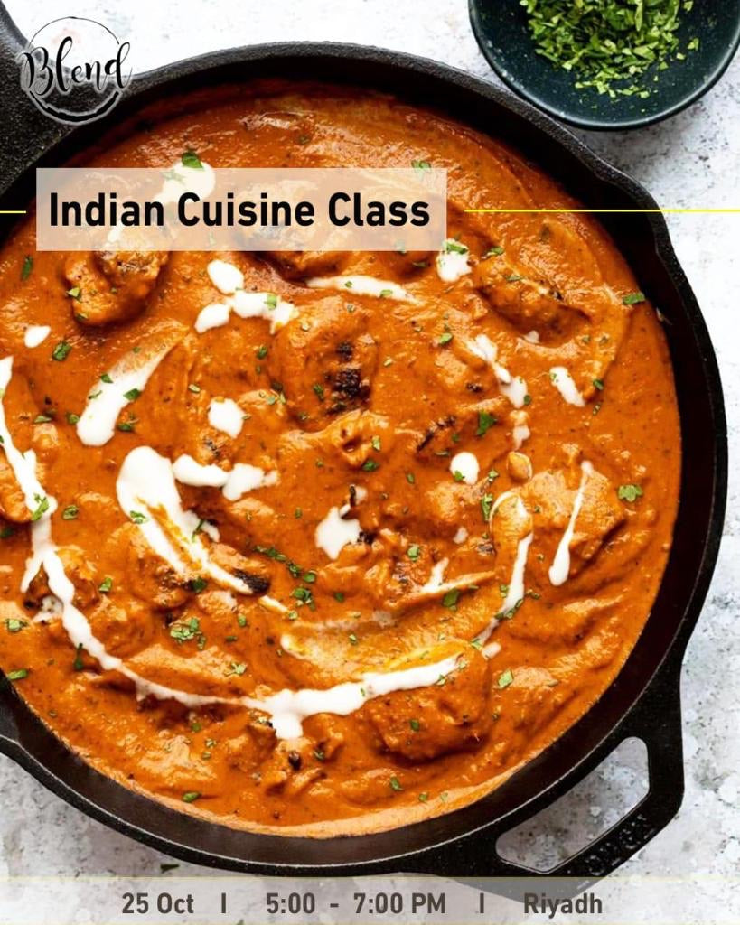 The Indian Cuisine Class (25 Oct 2020)