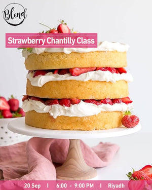 Strawberry Chantilly Class (20 Sep 2020)