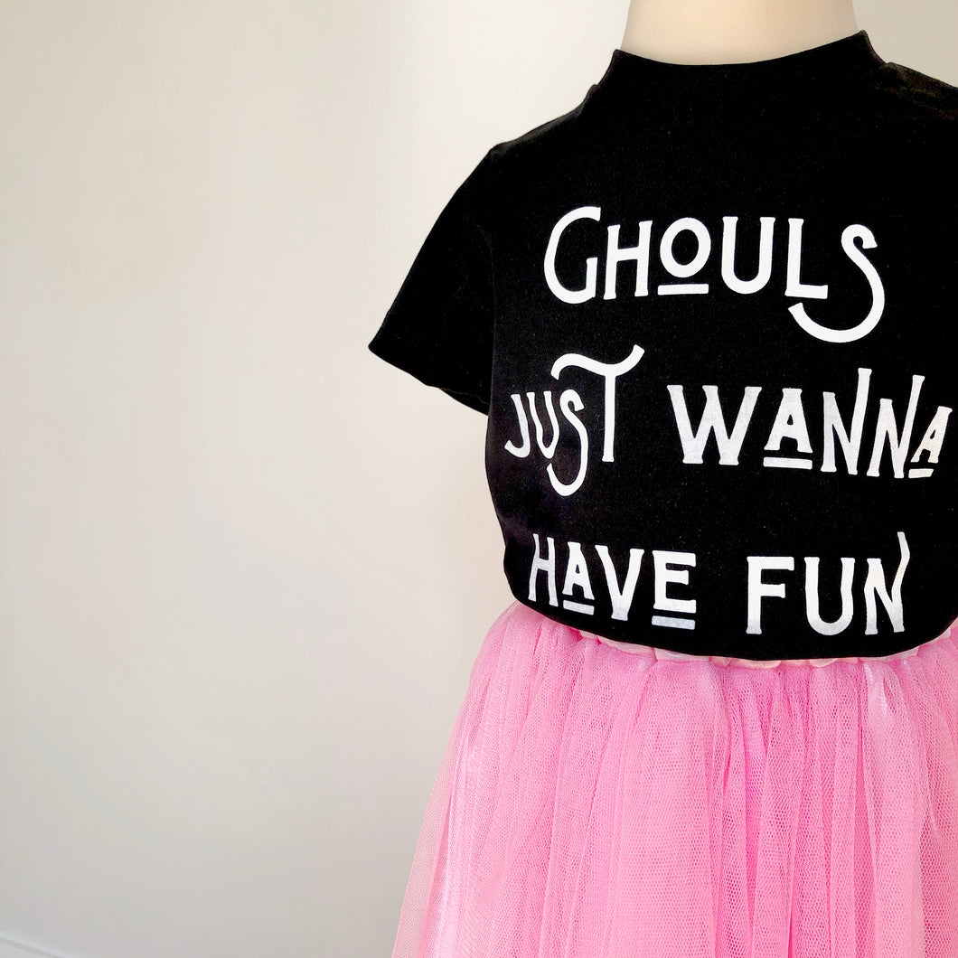 'Ghouls Just Wanna Have Fun' Halloween Lux T-shirt