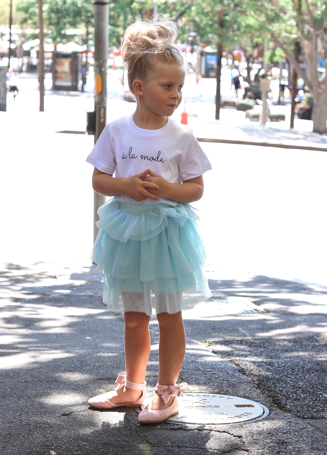 Jasmine blue Tutu girls tutu