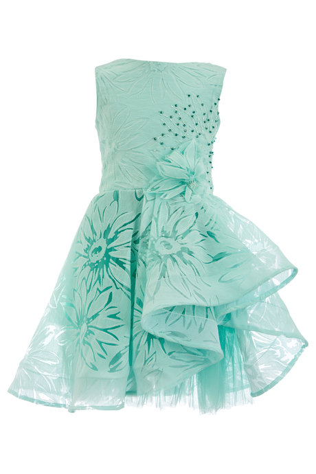 Soapbox Kids Sherbet Dress Seafoam