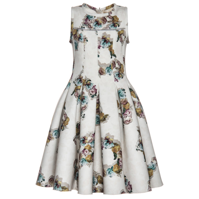 Foral Chic Dress | Monnalisa