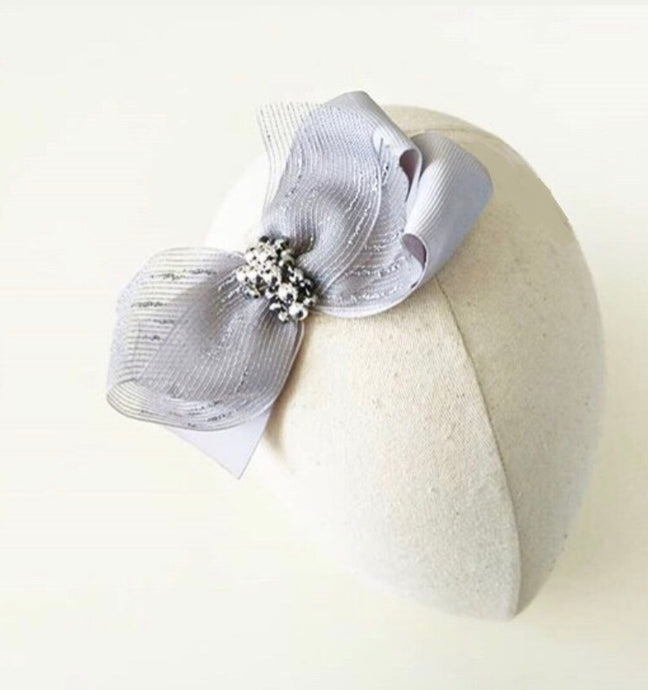 'The Silver Lining' Hair Clip