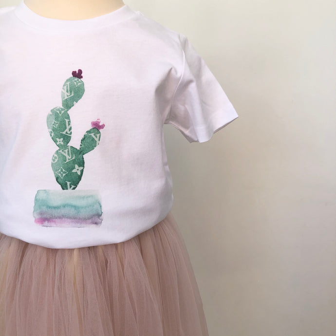 'Pretty Fly for a Cacti' Unisex Lux T-shirt