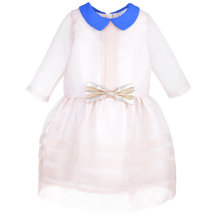 Hucklebones Sheer Organza Tea Dress Front