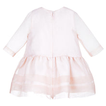 Baby Sheer Organza Tea Dress Back