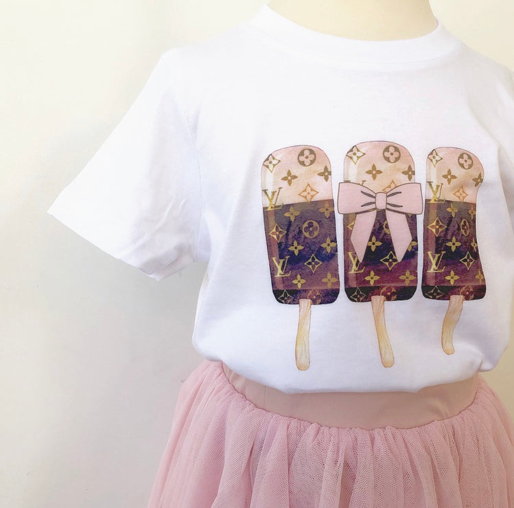 'Pop-so-cool' Lux T-shirt