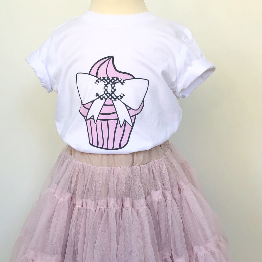 Chanel Cupcake kids t-shirt