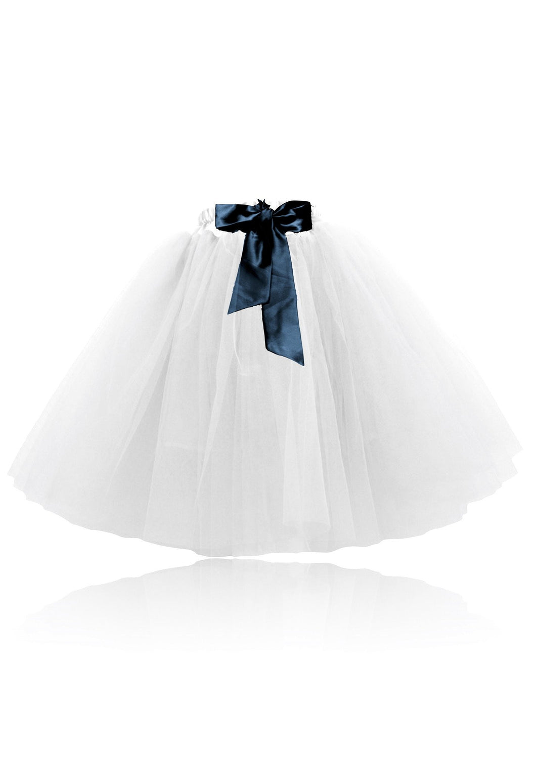 Romantic Long Tutu White | DOLLY by Le Petit Tom