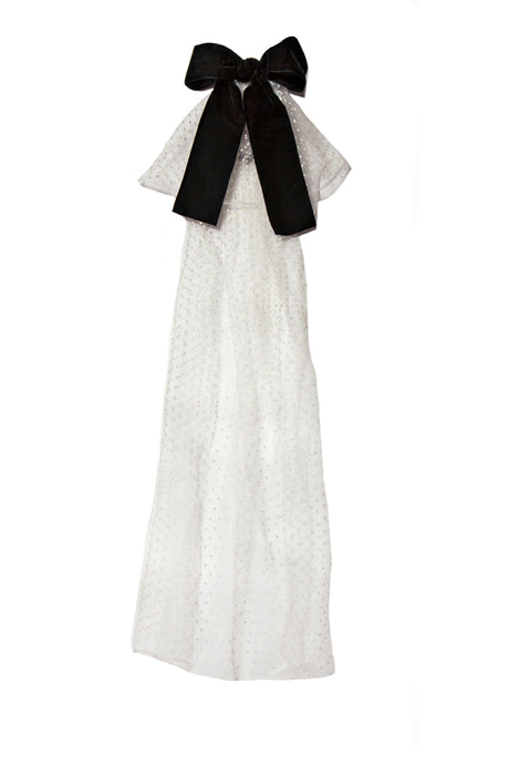 Royal Majesty Cape - Ivory / Black | Modern Queen Kids