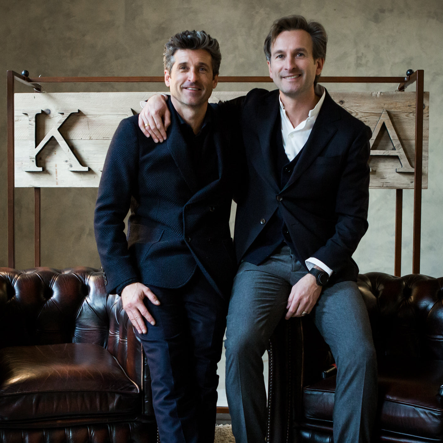 Patrick Dempsey, friend of KA/NOA