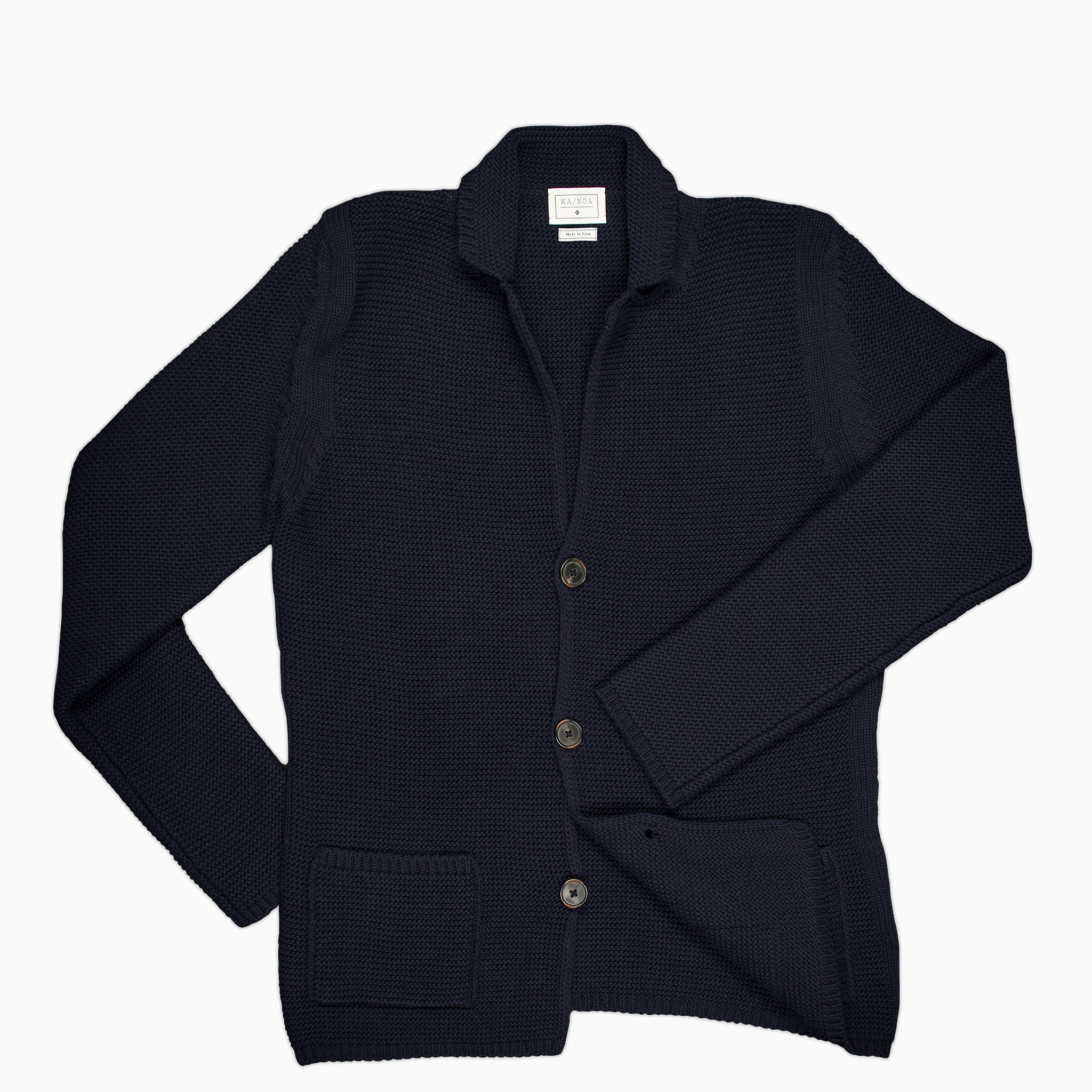 Augustin knitted blazer (dark blue)