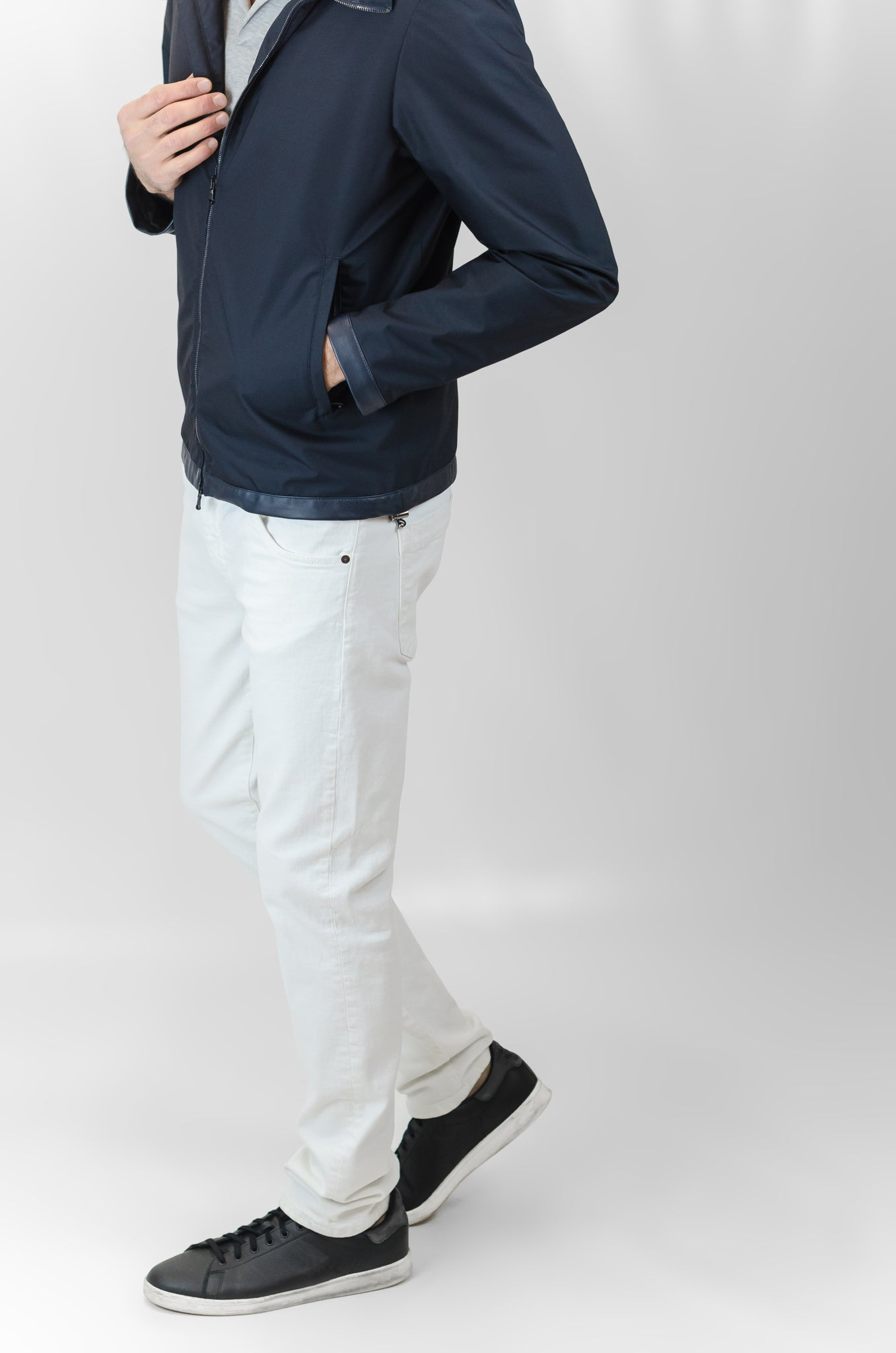 Aloi Cotton Bull Denim (White)