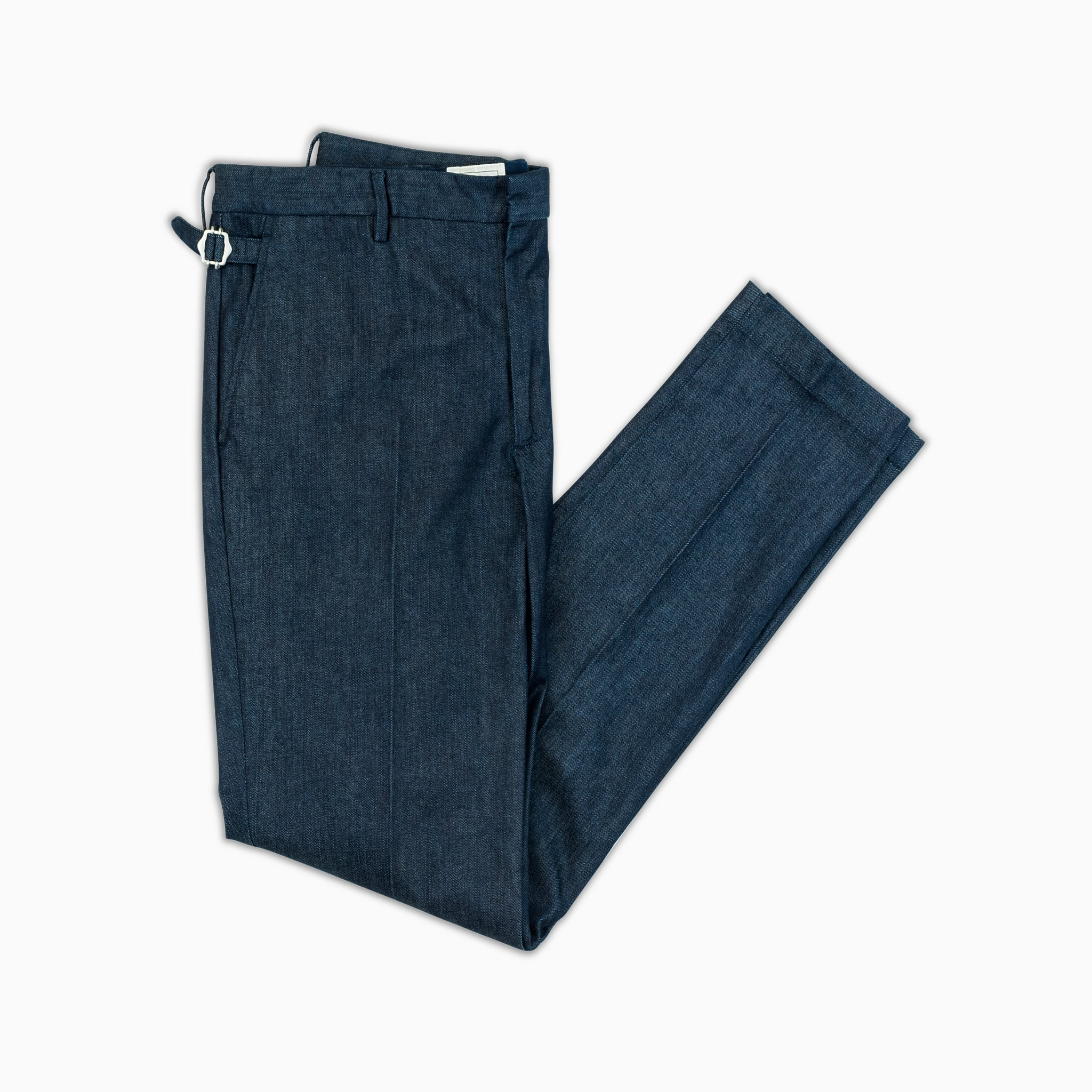 Arduin new denim chino concept in fine stretch denim (dark blue)