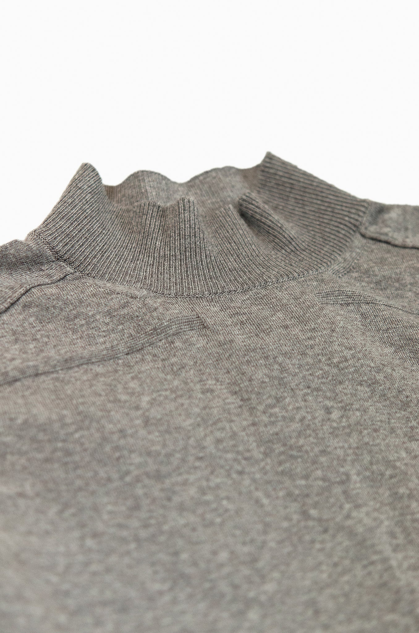 Aristide cycling collar jumper Extrafine Wool (Root Melange)