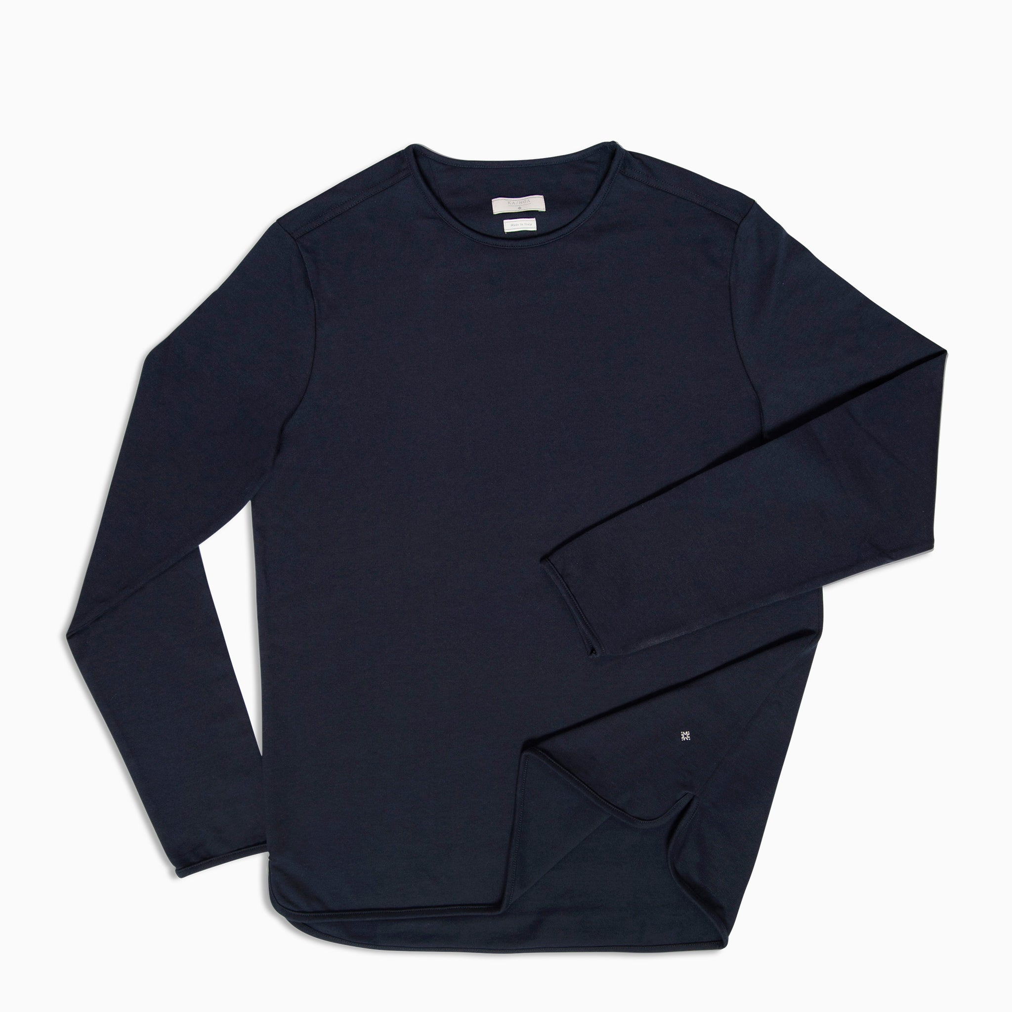 Alaric t-shirt Long Sleeves (Dark Blue)