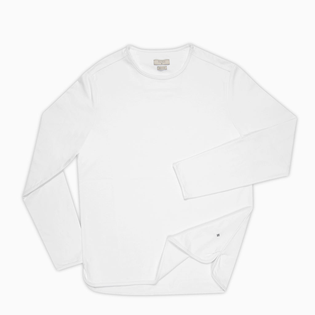 Alaric t-shirt Long Sleeves (White)